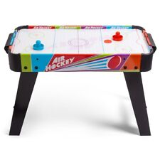 Electric Air Hockey Table with Push & Pucks Kids Indoor Game Table Birthday Gift