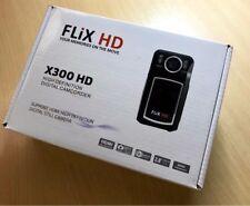 Flix HD 1080P X300 Digital Camcorder - HDMI - 8GB SD card - 12MP Camera - New