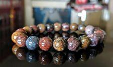 "Natural PIETERSITE bead bracelet for MEN (Stretch) AAA 10mm - 8"" inch"