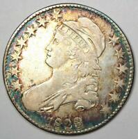 1823 Capped Bust Half Dollar 50C Coin - XF Details - Rare Date!