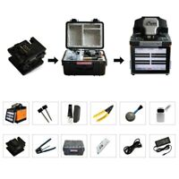T60 Optical Fiber Fusion Splicer Automatic Fusion Splicer Kit 5''LCD Screen FAST