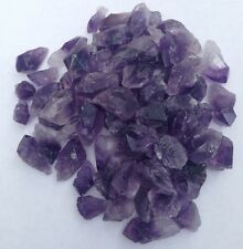 5 x Rough Purple Amethyst Pieces - Small - with FREE BAG - Crystal/Rock/Points