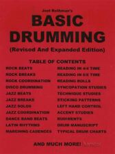 Joel Rothman's Basic Drumming Revised & Expanded Edition Drum Music Book
