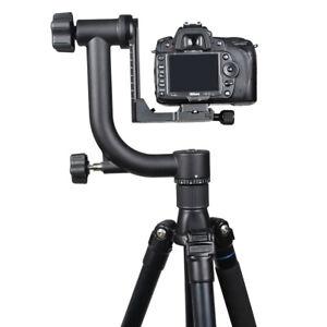 "Panoramic 360° Gimbal Tripod Head 1/4"" 3/8"" Socket for Nikon Canon DSLR Camera"