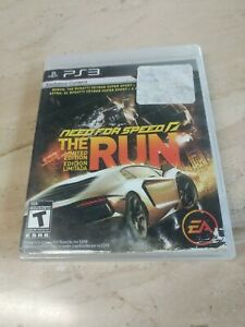 Need For Speed The Run Limited Edition PlayStation 3 PS3 Electronic Arts