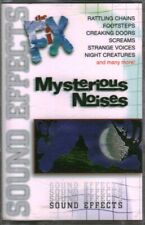 Mysterious Noises: Sound Effects (Cassette, Halloween, 1997)