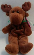 Avon Full Bean Spruce the Moose Beanie Stuffed Animal Brown 1999