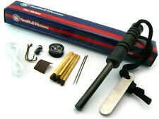 Smith & Wesson SURVIVAL KIT with Compass and Fire Striker / Lighter