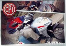 Prospekt CPI Oliver City 50 125 brochure Broschüre Scooter Motorroller Roller