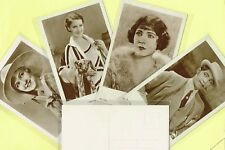 ROSS VERLAG - 1930s Film Star Postcards produced in Germany #4676 to #4745