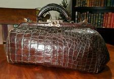 Antique Alligator Leather Doctor'S Bag~San Francisco Sanborn Vail & Co~Leather