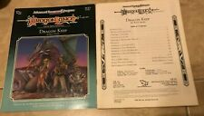 Advanced Dungeons & Dragons DLE3 Dragon Keep Book Folder 9245