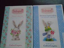 bebunni papercrafting cd-roms,1 floral & 1 double xmas