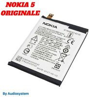 BATTERIA ORIGINALE NOKIA 5, N5 DUAL SIM TA-1053 DS 2900MAH POLIMERI HE336 HE321