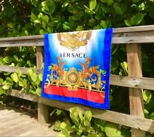 Versace Limited Edition South Beach Stories Beach Towel