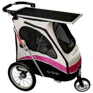 PETSTRO Stroller JETPRO 706GX-WP Tisch Pink | Buggy Wagen Show Ausste. Poussette