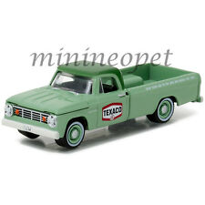 GREENLIGHT 41010 C 1967 67 DODGE D-100 TEXACO PICK UP TRUCK 1/64 DIECAST GREEN