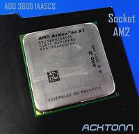 AMD Athlon 64 X2 3800+ Socket AM2 ADO3800IAACS /5CU CPU Processor