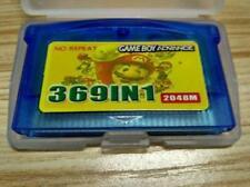 Nintendo GBA Game 369 in 1 Game Cartridge US English