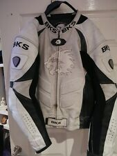 Pro racing BKS leather motorcycle jacket 42 good used condition