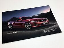2012 Mercedes-Benz SL-Class Roadster SL 550 SL 63 AMG Brochure