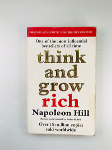 Think And Grow Rich by Napoleon Hill - Paperback - Free Postage