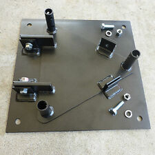 HAM RADIO Hinged Base plate Compatible with Rohn 25G tower sections