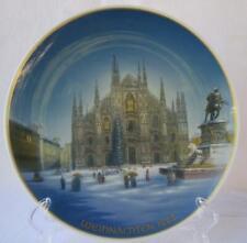 Vintage Rosenthal Porcelain Christmas Weihnachten Plate 1982 Mailand Milan