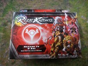 RELIC Knights Strategy Game - KASARO TO & AZI Noh Empire CMON BNIB