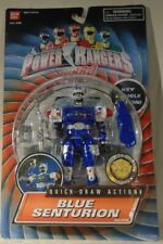 """Power Rangers Turbo 5"""" Blue Senturion Key Double Action With Quick Draw (MOC)"""