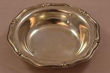 Wunderschöne große WILKENS 830 Silber Schale profiliertes Rocaillendekor 91,5 Gr