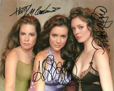 CHARMED CAST REPRINT SIGNED 8X10 PHOTO AUTOGRAPHED PICTURE ALYSSA MILANO GIFT
