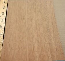 "Mahogany (African) wood veneer 6.5"" x 8"" with paper backing 1/40th&#0