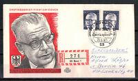 Berlin, FDC + Einschreiben Heinemann 2 x MiNr. 394 ESSt 25.06.1971