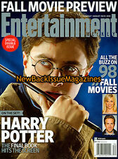Entertainment Weekly 8/10,Harry Potter,August 2010,NEW