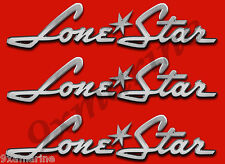 "YOUR COLOR CHOICE.05 PAIR OF /""4X28/"" LONE STAR BOAT HULL DECALS MARINE GRADE"