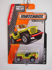 MATCHBOX MBX HEROIC RESUCE 43 JEEP WILLYS LIFE GUARD
