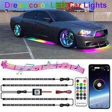 LED Ambientebeleuchtung RGB Dreamcolor Auto Unterboden Lichtleisten Set APP 12V