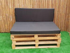 Kosipad Rattan Bench Sofa Cane Garden Furniture Foam Pads Cushions Outdoor