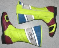 """"""" GIUDICI """" Motorradstiefel / Biker- Stiefel / Boots in bunt ca. Gr. 38,5 bis 39"""