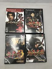 Onimusha Trilogy PS2 (1,2,3) Complete & Dawn Of Dreams .
