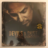 Bruce Springsteen - Devils & Dust - Rare SEALED 2005 OOP Record Hype Sticker