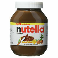 Ferrero Nutella Original Chocolate Hazelnut Spread Large Jar Family Pack of 1kg