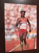 1996 Upper Deck U.S. Olympic #23 - Valerie Brisco - Track and Field