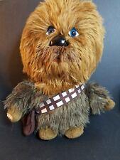 Star Wars Chewbacca Plush Stuffed toy Lucas Films talks