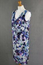 PAUL SMITH BLACK Ladies DRAPED Multicoloured Floral Pattern DRESS  Size Medium M