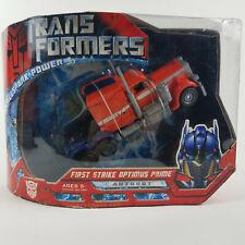 Transformers Movie Voyager Class FIRST STRIKE OPTIMUS PRIME Hasbro 2008 NIB