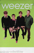 WEEZER 2001 GREEN ALBUM TOUR PROMO POSTER