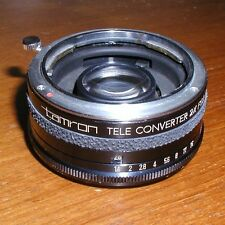 tamron TELE CONVERTER 2x for KONICA made in Japan