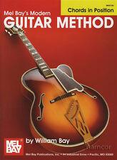 Mel Bay's Modern Guitar Method Chords in Position Chord Book